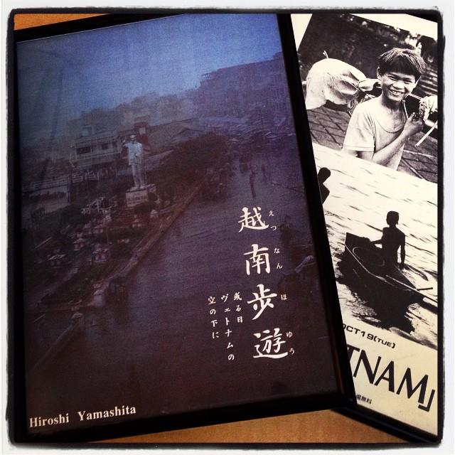 exhibition of photographs ヴェトナムの写真展をやった時のポスターが出てきた^^ Ho オジさんはいまも元気でやったいるだろうか^^;