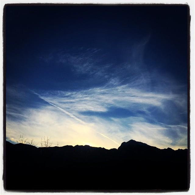 yester 昨日の夕陽^^