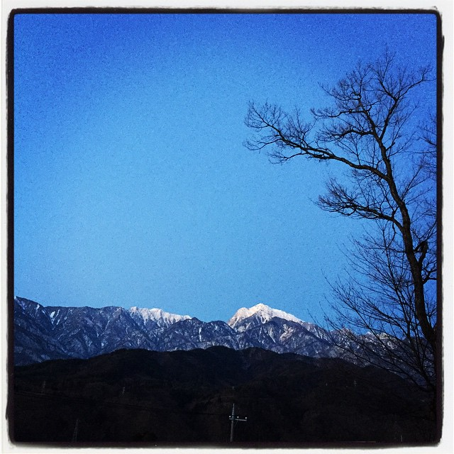 good mo きょうもいい天気^^ #mountainmountain  #nagasakabase