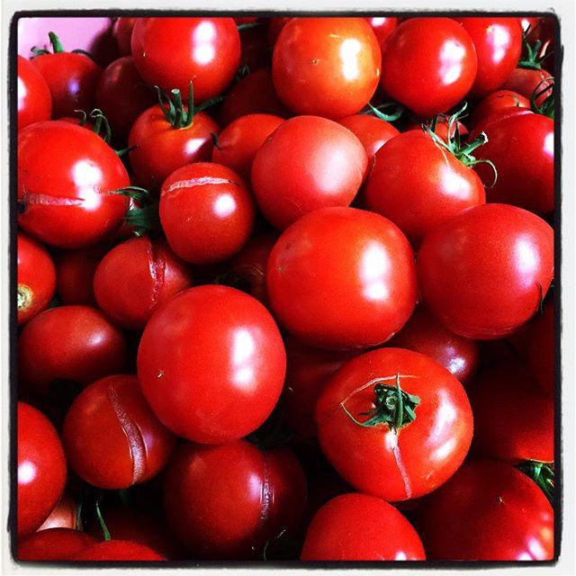 tomato 完熟アウトレットトマトをたくさん分けてもらったので^^今日もカットカット^^ #nagasakabase #mountainmountain #そんなあなたはスパイシー