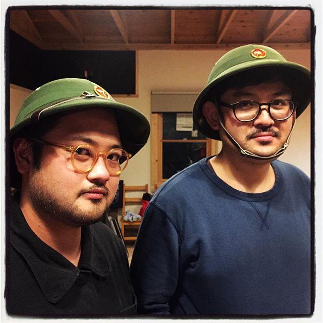 friend ヴェトナムから友達が遊びに来たのかと思ったら 楽弥だった^^ #nagasakabase #mountainmountain #そんなあなたはスパイシー;