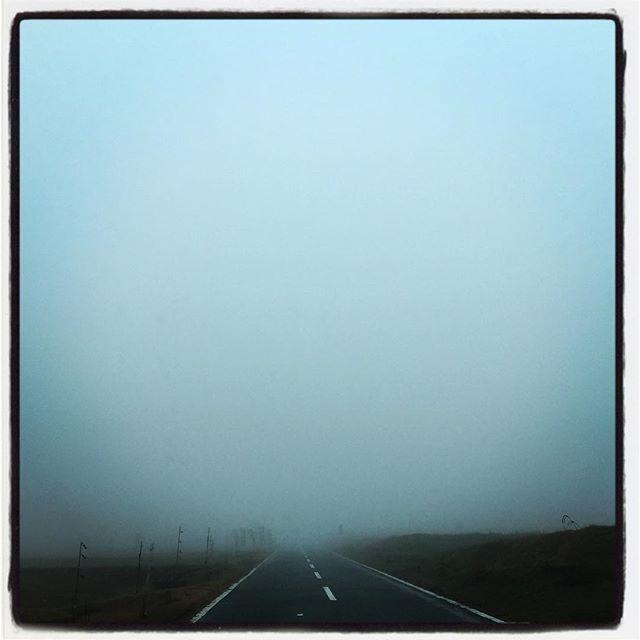 whiteout 今朝はまっしろで何も見えません^^; #nagasakabase #mountainmountain #そんなあなたはスパイシー