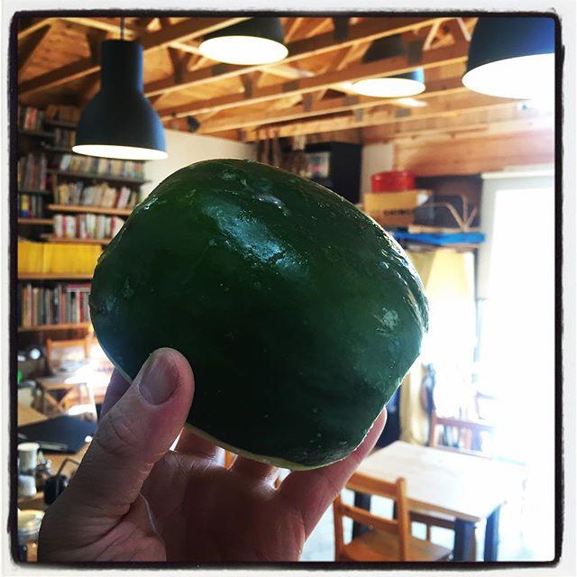 green papaya 青パパイアが入荷しておりますので サラダをグリーンサラダと青パパイアサラダからお選びいただけます^^プラス¥100ドレッシングは 特製ヌックマムベースのちょい辛ドレッシング^^ なくなり次第終了です^^ #nagasakabase #mountainmountain #そんなあなたはスパイシー