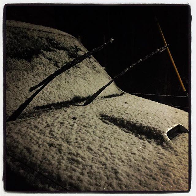 snow どのくらい降るのでしょうか^^; #nagasakabase #mountainmountain #そんなあなたはスパイシー #mountainlife