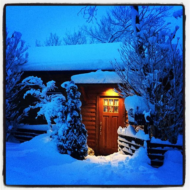 the snow piled up highたくさん降りました^^; まだ降っている^^; ️ #nagasakabase #mountainmountain #そんなあなたはスパイシー #mountainlife