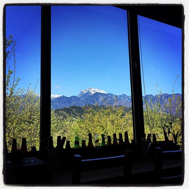 good morningmountain*mountainのある 山梨県北杜市長坂町は 雨上がりいい天気^^ お店から 最高の南アルプスが望めます^^ 穏やかな日々が続くことを願います^^ #mountainmountain #nagasakabase #そんなあなたはスパイシー #mountainlife