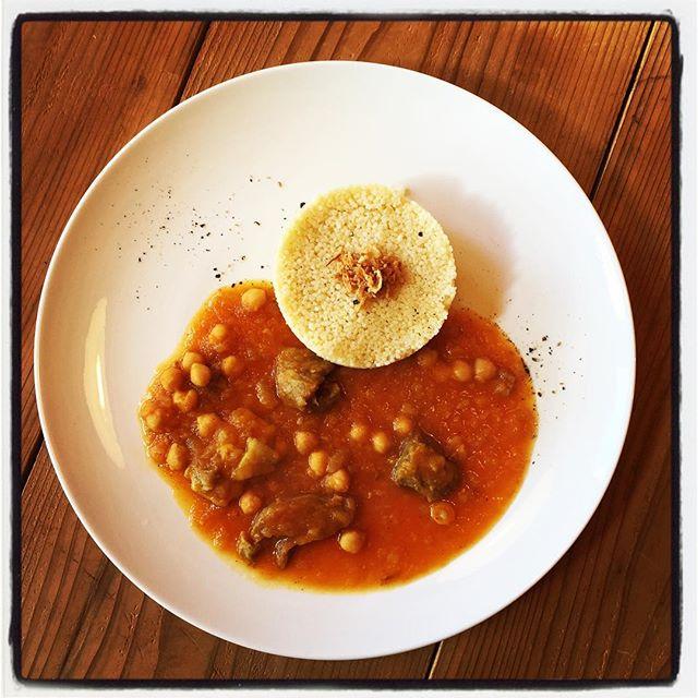 couscous牛スジ肉とひよこ豆のクスクス#mountainmountain #nagasakabase #そんなあなたはスパイシー #mountainlife #couscous