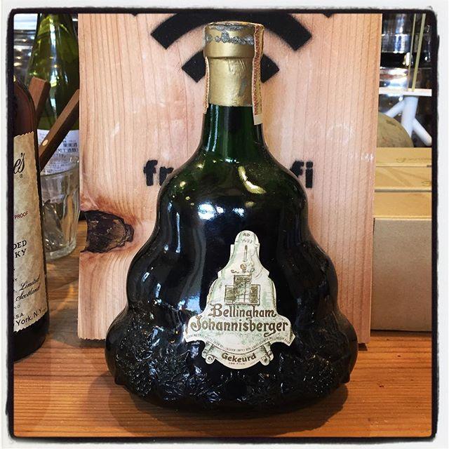 Bellingham Johannisberger 50年超の南アフリカ産ワインも出てきた^^ いつか開けたい^^ #mountainmountain #nagasakabase #そんなあなたはスパイシー #mountainlife