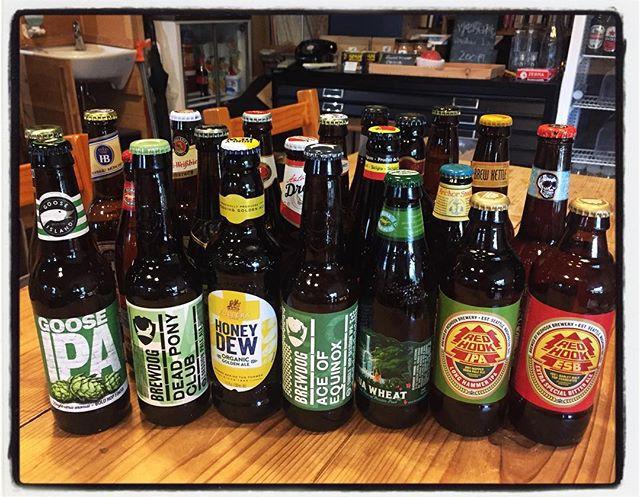 new stock 今日も新しいビールが届きました^^ 今回もクセのあるライナップが揃ってます^^; いずれも1種類1本づつとなっておりますので 気になる銘柄がある方はお早めに^^ #mountainmountain #nagasakabase #そんなあなたはスパイシー #mountainlife #world #worldbeer #beer