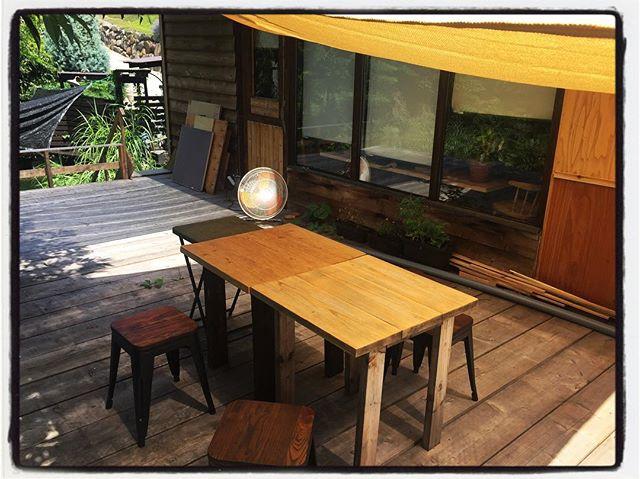 deck seat デッキ席はペットも一緒にお食事していただけます︎ 少し暑いですが タープと業務用扇風機を用意してお待ちしております︎ まだ 一席しかないので ご利用希望の方は ご一報いただければお席ご用意しておきます!#風が吹くといい感じ#吹かない時は扇風機#mountain #mountainmountain #nagasaka #nagasakabase #yatsugatakebase #yatsugatake #そんなあなたはスパイシー #山梨 #北杜 #移住 #定住 #旅人 #vagabond #料理人 #chef #photographer #cameraman #カメラマン #写真家 #japan #food #料理 #foodpic #foodstagram #foodie #restaurant#kitchen #stories